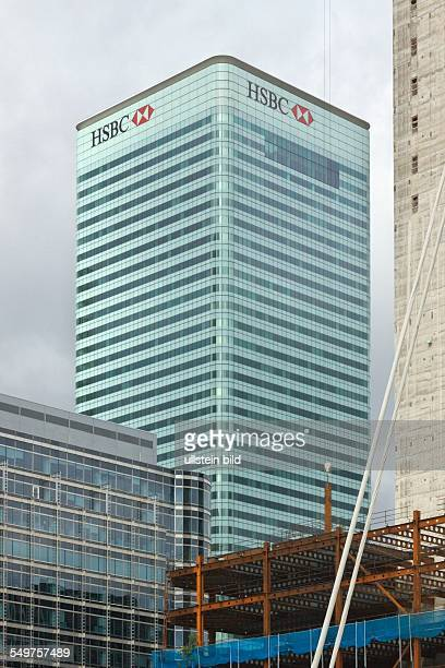 Canary Wharf London Tower der HSBCBank