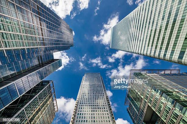 canary wharf - canary wharf stock pictures, royalty-free photos & images
