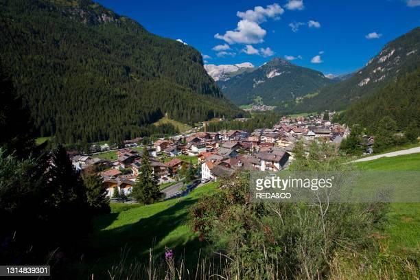 Canazei. Val di Fassa. Dolominti. Trentino Alto Adige. Italy. Europe.