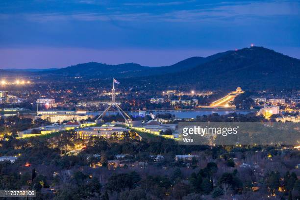 canberra, act, australia - australian politics stock pictures, royalty-free photos & images