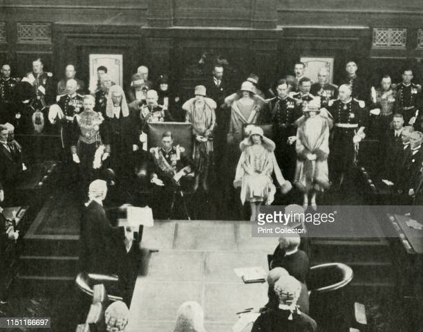 Canberra, Australia. Their Majesties Opening the First Federal Parliament, May 9th, 1927', 1937. His Royal Highness The Duke of York 1920-1936 became...