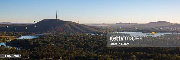 canberra balloon spectacular - canberra stock pictures, royalty-free photos & images