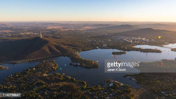 canberra balloon spectacular - australian capital territory stock pictures, royalty-free photos & images