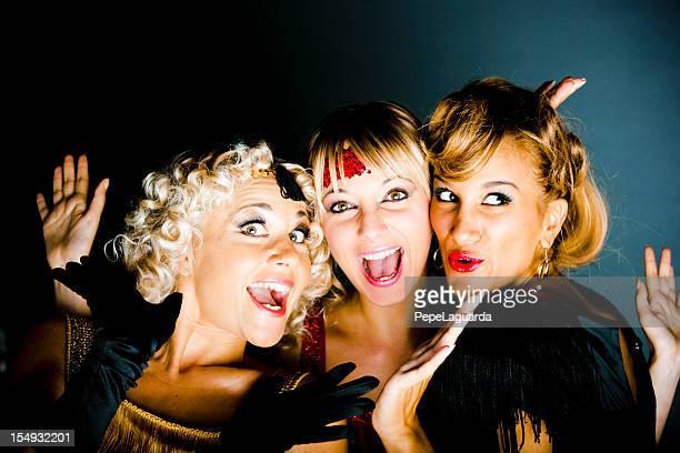 Cancan Dancing girls