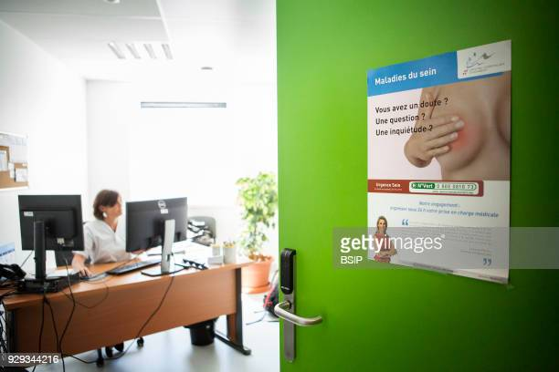 Cancer diagnosis center The Savoie multidiscipline information and oncology meeting space ERMIOS where professionals who specialize in oncology...