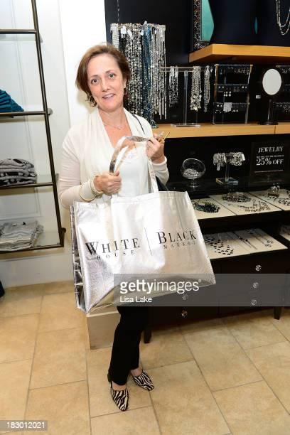 Cancer survivor and Fall cover model for WHBM Lynn Folkman attends the Shop For A Cause with Living Beyond Breast Cancer and People StyleWatch hosted...