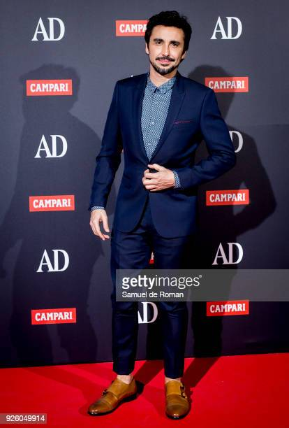 Canco Rodriguez attends 'AD Awards' 2018 photocall on March 1 2018 in Madrid Spain