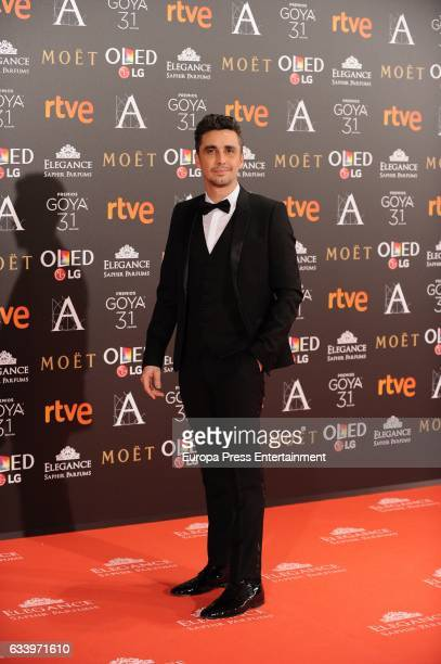 Canco Rodriguez attends Goya Cinema Awards 2017 at Madrid Marriott Auditorium on February 4 2017 in Madrid Spain