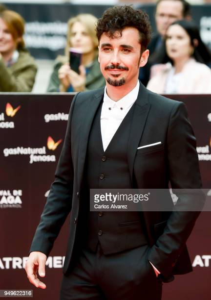 Canco Rodriguez attends the 21th Malaga Film Festival closing ceremony at the Cervantes Teather on April 21 2018 in Malaga Spain