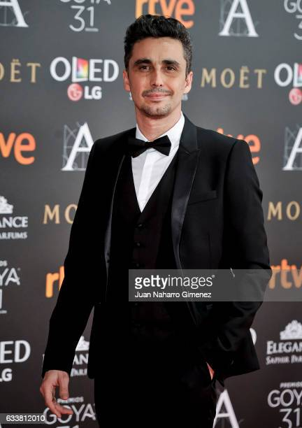Canco Rodriguez attends the 31st edition of the 'Goya Cinema Awards' ceremony at Madrid Marriott Auditorium on February 4 2017 in Madrid Spain