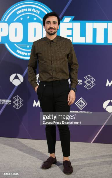 Canco Rodriguez attends the 'Cuerpo De Elite' photocall at ME Reina Victoria Hotel on January 12 2018 in Madrid Spain