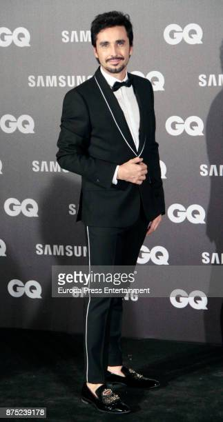 Canco Rodriguez attends the GQ Men of the Year Awards 2017 at Palace hotel on November 16 2017 in Madrid Spain