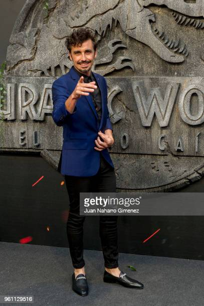 Canco Rodriguez attends the 'Jurassic World Fallen Kindom' premiere at Wizink Center on May 21 2018 in Madrid Spain