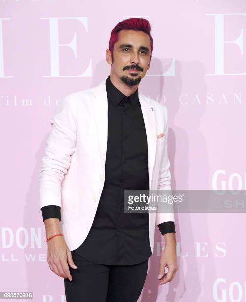 Canco Rodriguez attends the 'Pieles' premiere pink carpet at Capitol cinema on June 7 2017 in Madrid Spain