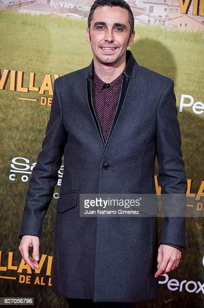 Canco Rodriguez attends 'Villaviciosa De Al Lado' premiere at Capitol Cinema on December 1 2016 in Madrid Spain