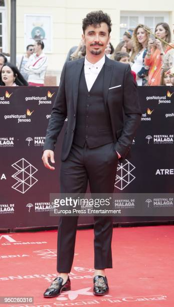 Canco Rodriguez during the 21th Malaga Film Festival closing ceremony at the Cervantes Teather on April 21 2018 in Malaga Spain