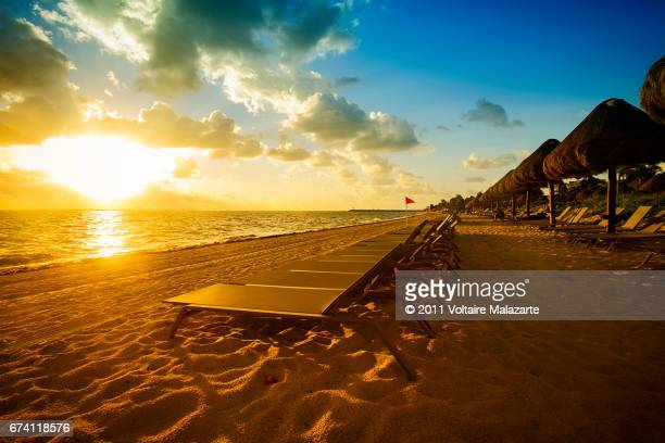 Cancun Beach scenes