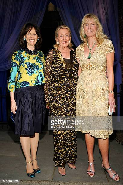 Candace Beinecke Norma Dana and Dailey Pattee attend The Wildlife Conservation Society's SAFARI INDIA Gala at Central Park Zoo on June 3 2008 in New...