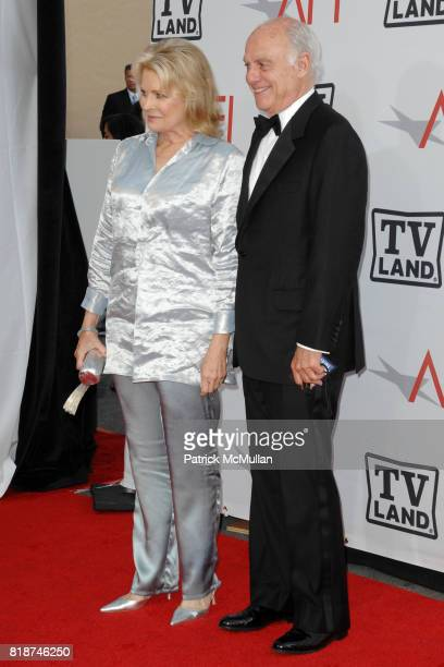 Candace Bergen and Marshall Rose attend TV Land Presents The AFI Life Achievement Awards Honoring Mike Nichols at Sony Pictures Studios on June 10...