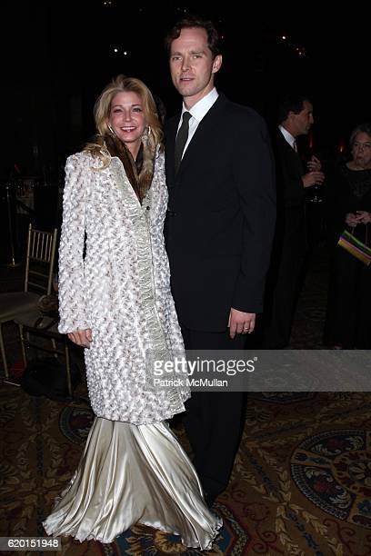 Candace Bushnell and Charles Askegard attend THE NATIONAL BOOK AWARDS 59th Annual Ceremony and Benefit Dinner at Cipriani's Wall St on November 19...