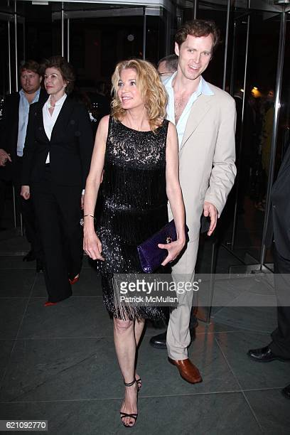 Candace Bushnell and Charles Askegard attend The New York Premiere of New Line Cinema's SEX AND THE CITY After Party at MoMa on May 27 2008 in New...
