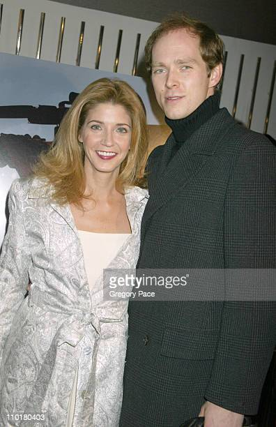 Candace Bushnell and Charles Askegard during HBO Presents the New York Premiere Of Live From Baghdad at City Cinema in New York City New York United...