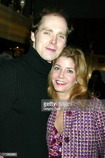 Candace Bushnell and her husband Chalres Askegard during HBO's 'Six Feet Under' Third Season World Premiere After Party at Capitale in New York City...