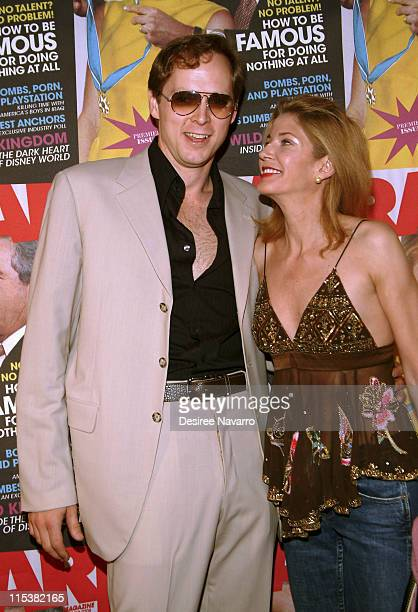 Candace Bushnell and husband Charles Askegard during Radar Magazine Launch at Hotel QT in New York City New York United States