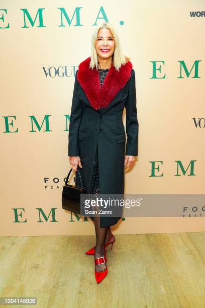 Candace Bushnell attends a Special Screening Of Emma at the Whitby Hotel on February 04 2020 in New York City