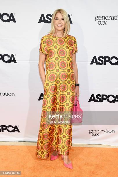 Candace Bushnell attends ASPCA's 22nd annual Bergh Ball honoring David Patrick Columbia at The Plaza on April 25 2019 in New York City