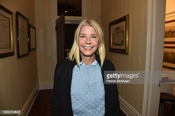 Candace Bushnell attends Hearst Castle Preservation Foundation Associate Trustees' Dinner at Hearst Castle on September 27 2018 in San Simeon CA