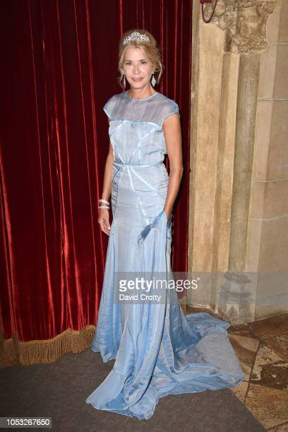 Candace Bushnell attends Hearst Castle Preservation Foundation Hollywood Royalty Dinner at Hearst Castle on September 28 2018 in San Simeon CA