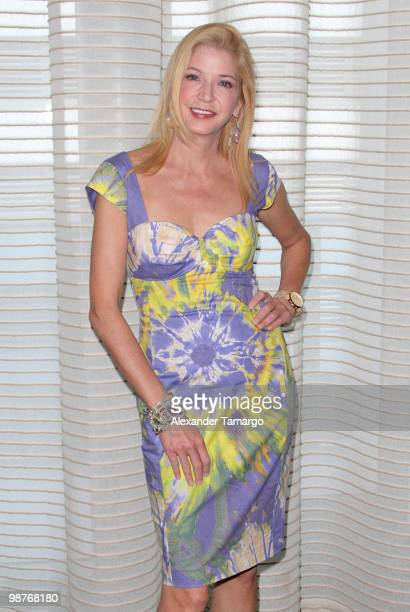 Candace Bushnell attends the book luncheon for her latest book The Carrie Diaries at Epic Hotel on April 30 2010 in Miami Florida