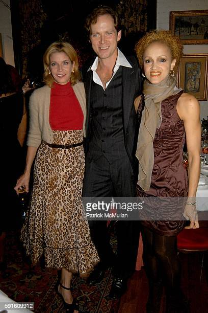 Candace Bushnell Charles Askegard and Cari Modine attend A Private Dinner for Bob Mackie in Celebration of his Upcoming Auction at Christie's at Le...