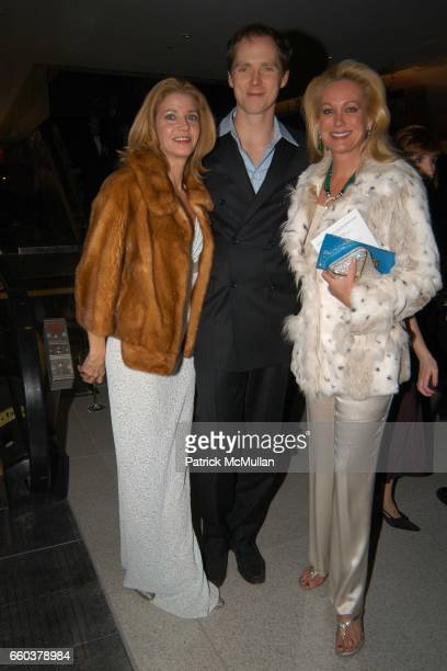 Candace Bushnell Charles Askegard Nina Griscom attend Grand Opening Celebration of the Time Warner Center at Time Warner Center on February 4 2004 in...