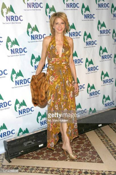 Candace Bushnell during 8th Annual NRDC Forces of Nature Gala at Cipriani 42nd Street in New York NY United States