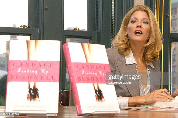 Candace Bushnell during Candace Bushnell Signs Copies of Her New Book Trading Up at Barnes and Noble Union Square in New York City New York United...