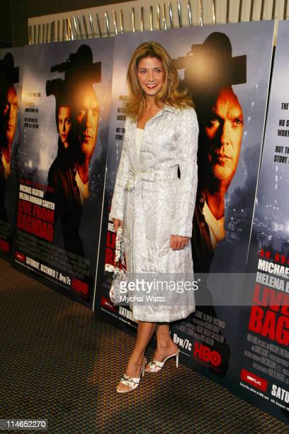 Candace Bushnell during HBO Presents the New York Premiere Of 'Live From Baghdad' at City Cinema in New York City New York United States