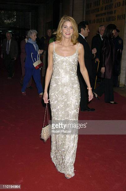 Candace Bushnell during New York City Ballet 2004 Spring Gala Balanchine's 100 at Lincoln Center Plaza in New York City New York United States