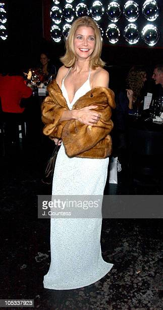 Candace Bushnell during Olympus Fashion Week Fall 2004 RED Valentino Dinner and Kick Off Party at Lot 61 in New York City New York United States