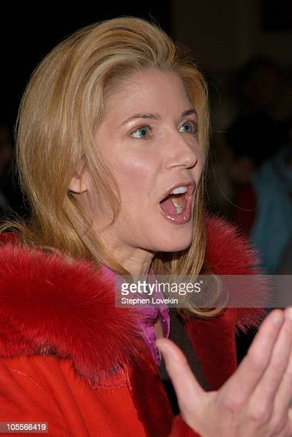 Candace Bushnell during Olympus Fashion Week Fall 2005 Nicole Miller Front Row and Runway at The Manhattan Yacht Club in New York City New York...