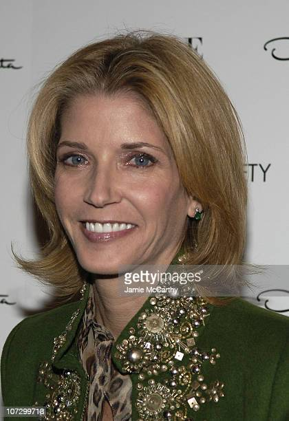 Candace Bushnell during The Cinema Society and Vogue Present 'The Family Stone' Hosted by Sarah Jessica Parker and Oscar de la Renta at The Tribeca...