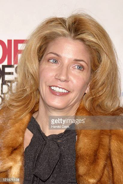 Candace Bushnell during The Eighth Annual Elle Decor's 'Dining by Design' at Hammerstein Ballroom in New York City New York United States