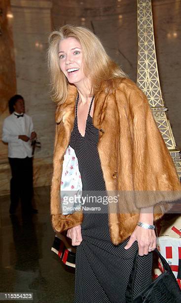 Candace Bushnell during The Paris Review Foundation Presents Fall Revel Honoring William Styron at Cipriani in New York City New York United States