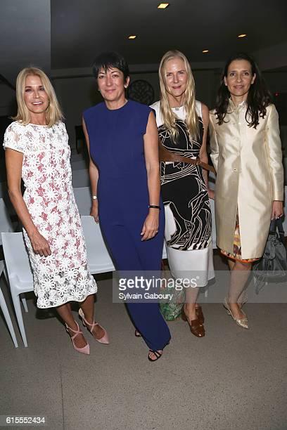 Candace Bushnell Ghislaine Maxwell Gigi Mortimer and HRH Princess Alexandra of Greece attend VIP Evening of Conversation for Women's Brain Health...