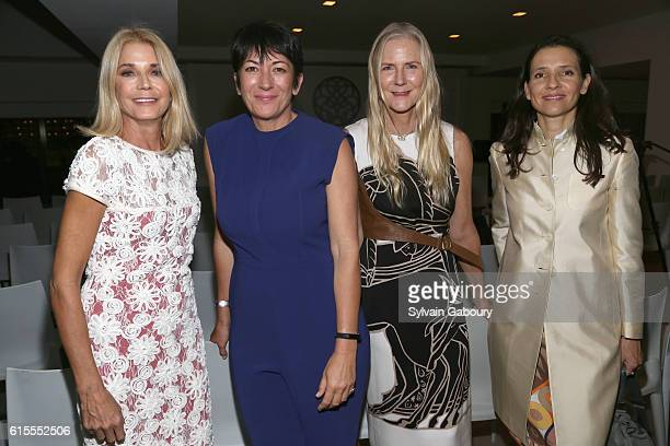 Candace Bushnell Ghislaine Maxwell Gigi Mortimer and HRH Princess Alexandra of Greece attend VIP Evening of Conversation for Women's Brain Health...