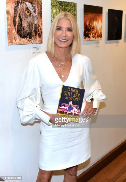 Candace Bushnell In Conversation With Brett Graff and promoting new book Is There Still Sex in the City at Books Books on September 20 2019 at Coral...