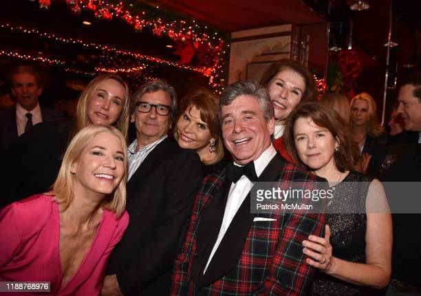 Candace Bushnell, Patty Raynes, Griffin Dunne, Ivana Lowell, Jay McInerney, Sara Colleton and Rachel Cobb attend Anne Hearst McInerney, Jay McInerney...