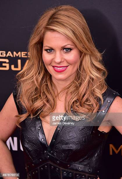 Candace Cameron attends the 'The Hunger Games Mockingjay Part 2' New York premiere at AMC Loews Lincoln Square 13 theater on November 18 2015 in New...