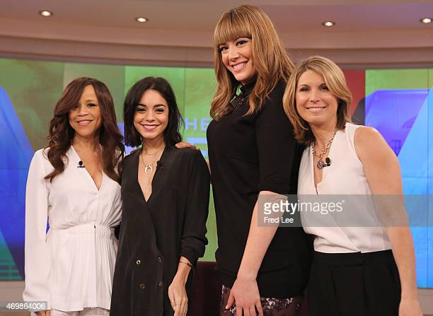 THE VIEW Candace Cameron Bure and Michelle Collins guest cohost Guests include Vanessa Hudgens and musical group Train performs today Tuesday April...